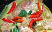 Resep Membuat Masakan Gulai Masin Ikan Kakap